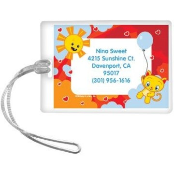 Super Happy Personalized Luggage Tag (each)