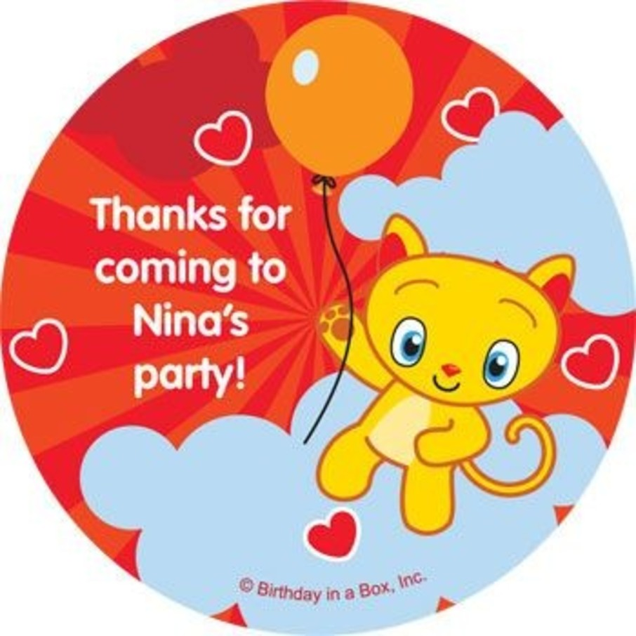 View larger image of Super Happy Personalized Stickers (sheet of 12)
