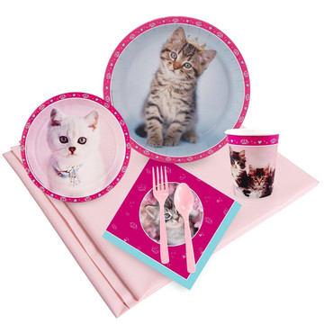 Glamour Cats 16 Guest Party Pack by Rachael Hale