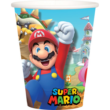 Super Mario Bros. 9oz Cups , 8ct