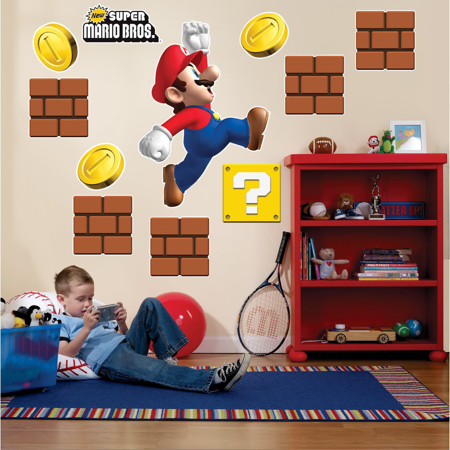 View larger image of Super Mario Bros. Giant Wall Decals