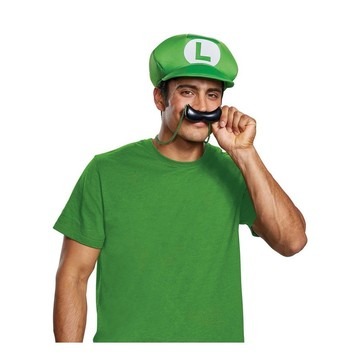 Super Mario Bros. Luigi Hat & Mustache Necklace Kit
