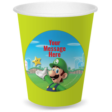 Super Mario Bros. Luigi Personalized Cups (8)