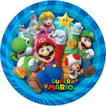 Super Mario Bros. Lunch Plate