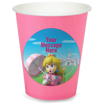 Super Mario Bros. Princess Peach Personalized Cups (8)