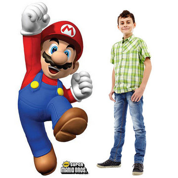 Super Mario Bros. Standup - 5' Tall