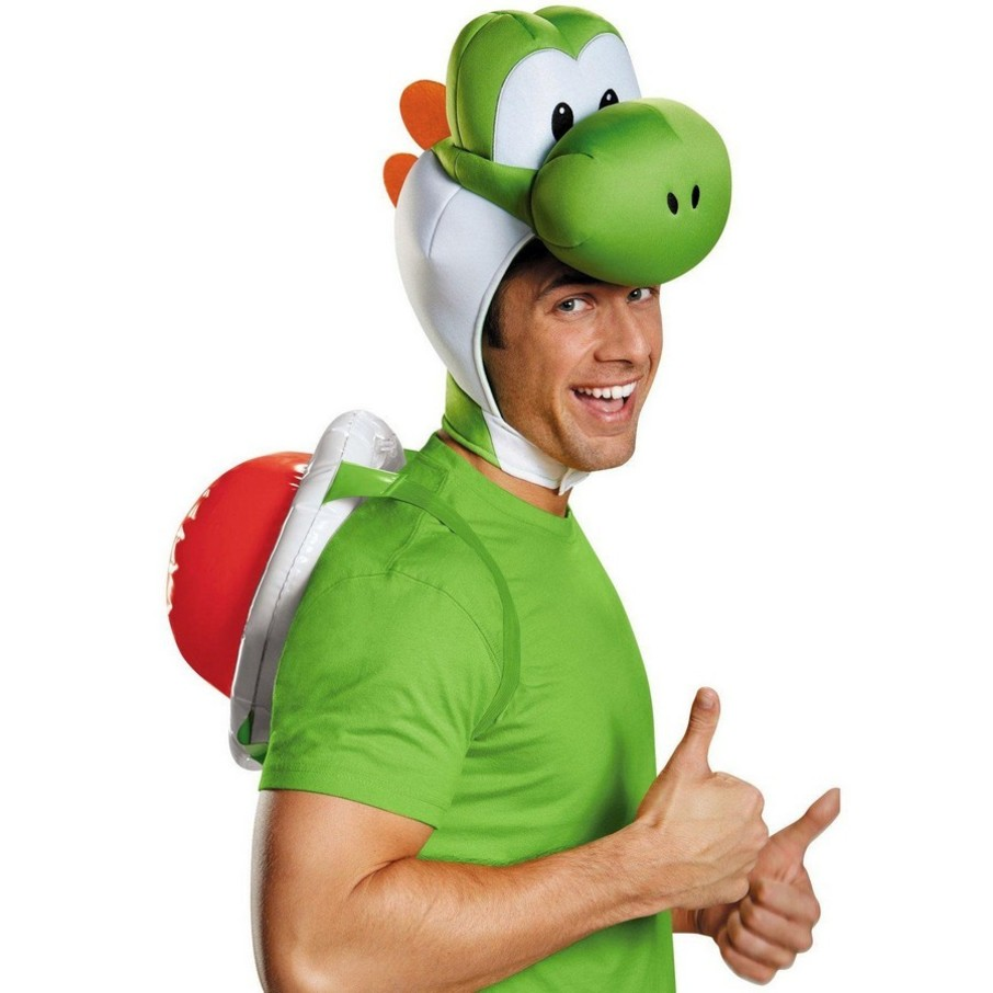 View larger image of Super Mario Bros: Yoshi Costume Kit For Adults