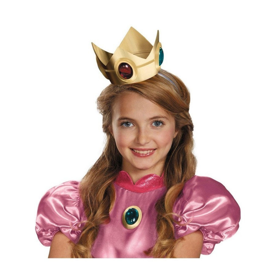 View larger image of Super Mario Brothers Princess Peach Crown Amulet