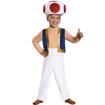 Super Mario Brothers Toad Toddler Costum