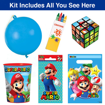 Super Mario Favor Goodie Bag, 1ct