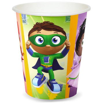 Super Why 9 oz. Paper Cups