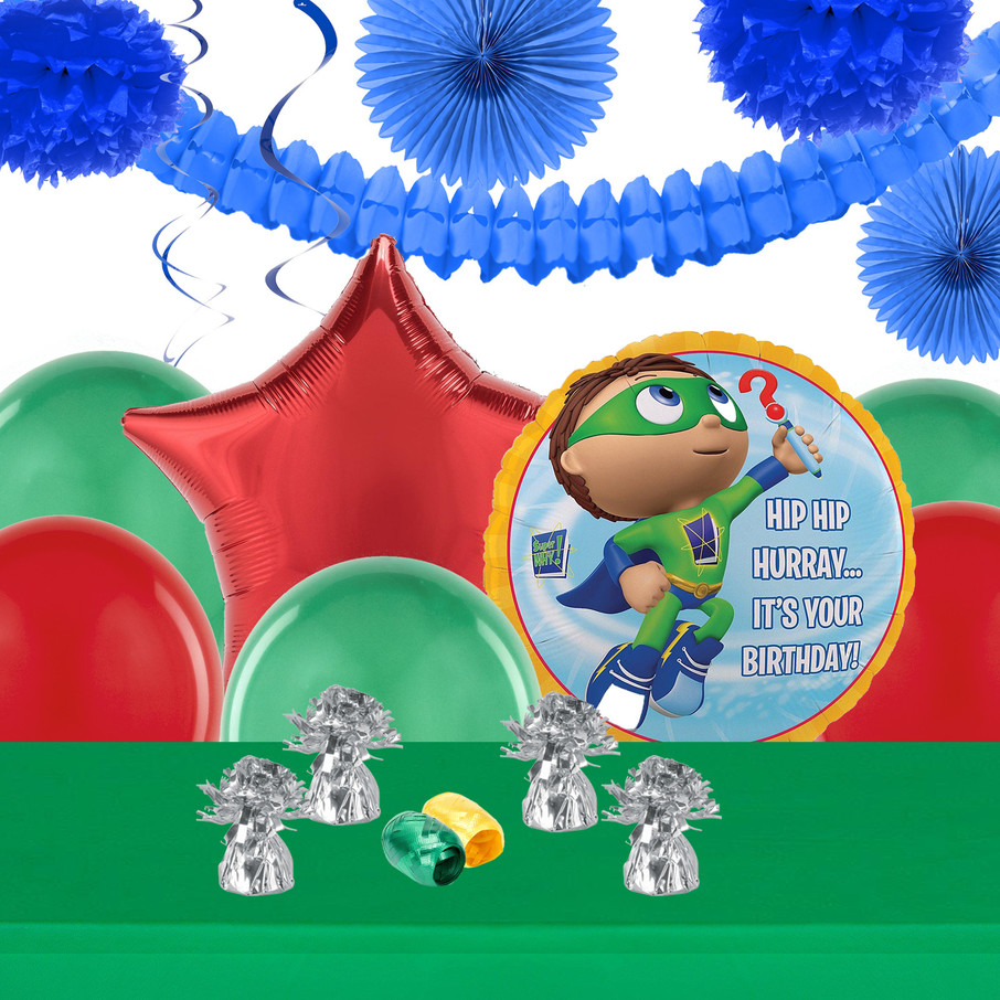View larger image of Super Why Deco Kit