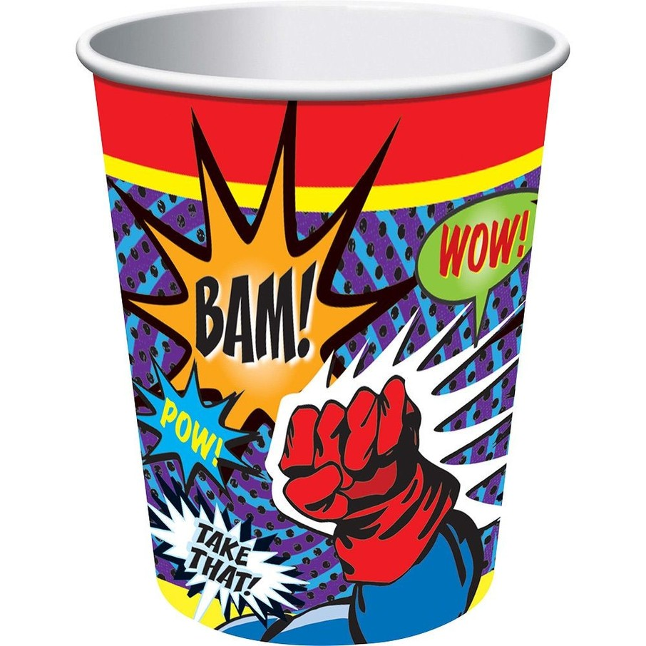 View larger image of Superhero 9 Oz Cups (8 Pack)
