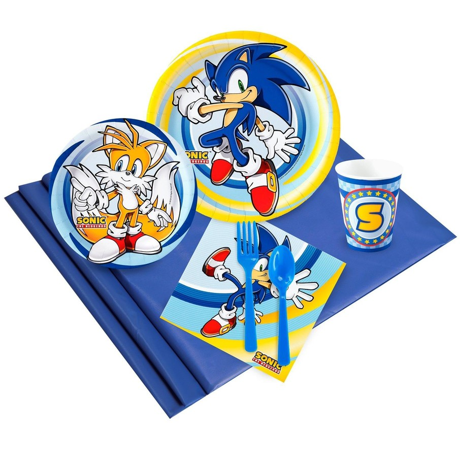 View larger image of Sonic the Hedgehog 24 Guest Party Pack