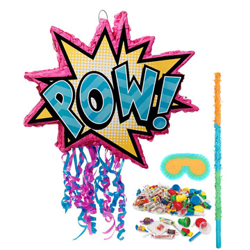 Superhero Girl Pinata Kit