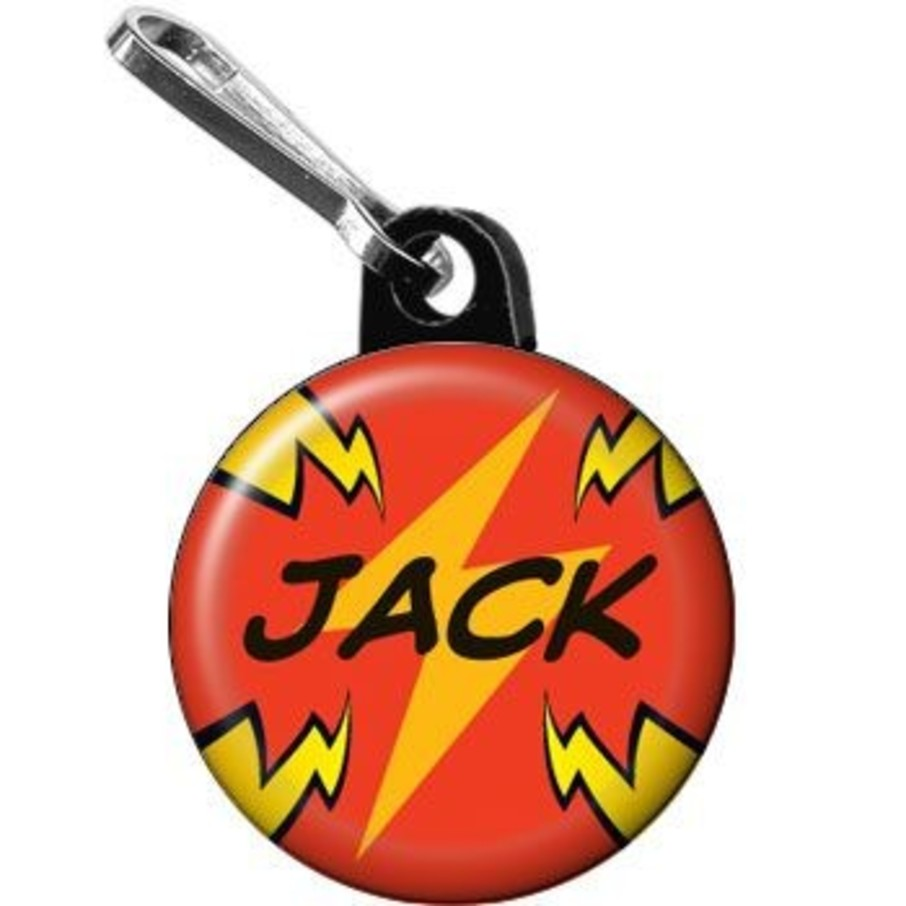 View larger image of Superhero Party Personalized Mini Zipper Pull (each)