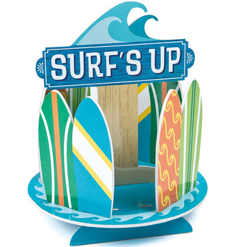 Surfs Up Birthday Centerpiece