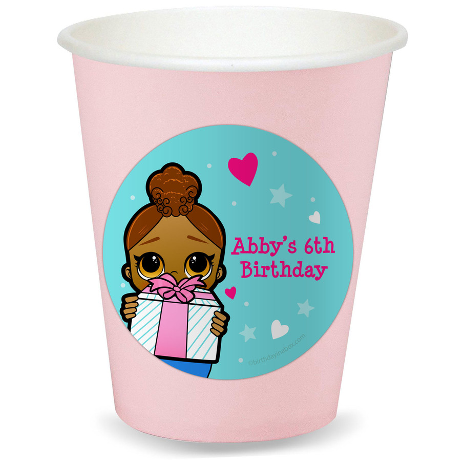 View larger image of Surprise Dolls Personalized Cups (8)