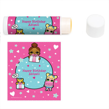 Surprise Dolls Personalized Lip Balm (12 Pack)