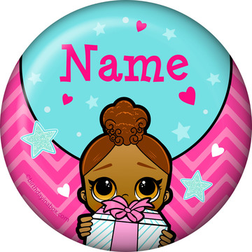 Surprise Dolls Personalized Mini Magnet (Each)