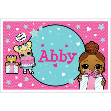 Surprise Dolls Personalized Placemat (Each)