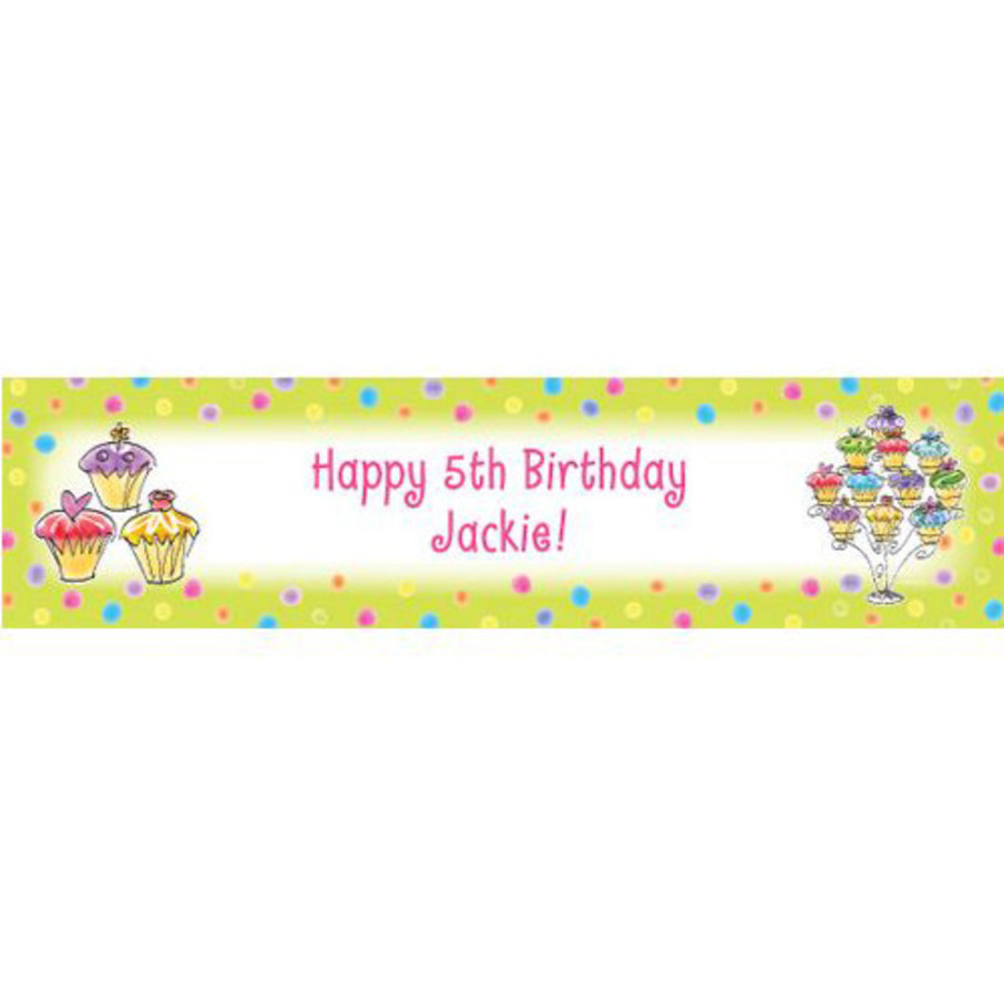 View larger image of Sweet Celebration Personalized Banner (each)