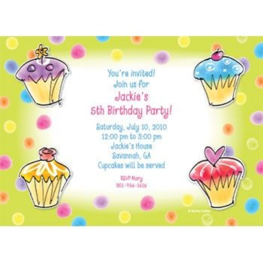 View larger image of Sweet Celebration Personalized Invitation (each)