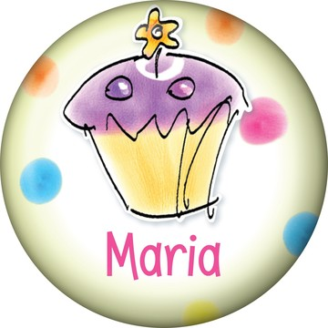 Sweet Celebration Personalized Mini Magnet (Each)