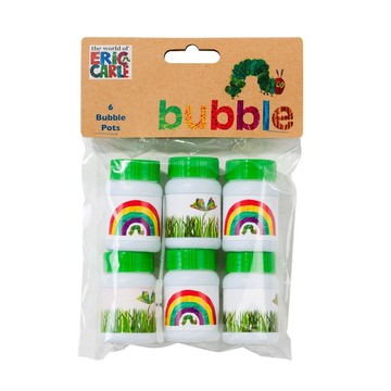 Talking Tables The Very Hungry Caterpillar Bubbles, 6ct