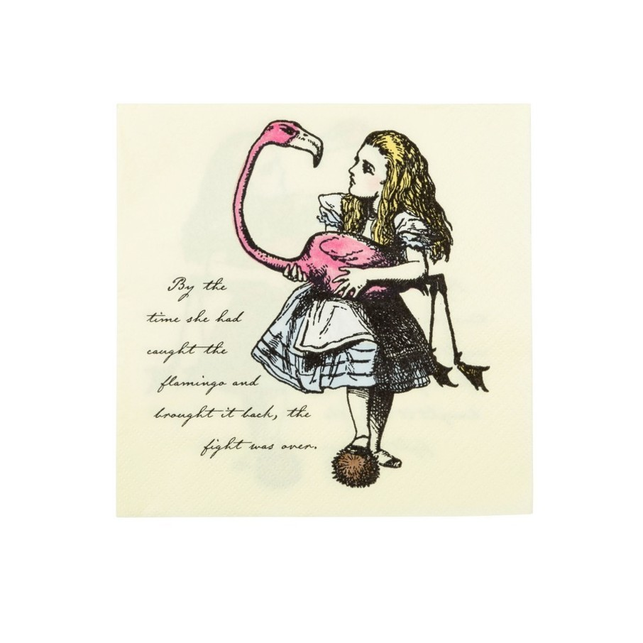 View larger image of Talking Tables Truly Alice Lunch Napkin, 20ct