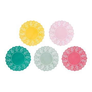 Talking Tables Truly Scrumptious Mini Paper Doilies, 100ct