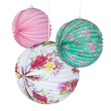 Talking Tables Truly Scrumptious Paper Lanterns, 3ct