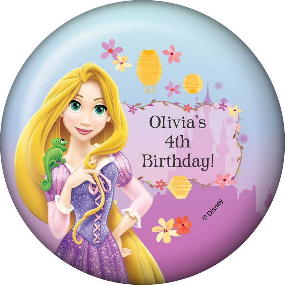 View larger image of Tangled Personalized Magnet (Each)