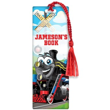 Tank Engine Personalized Bookmark (each)