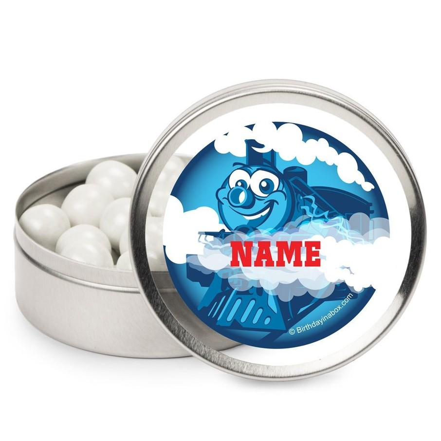 View larger image of Tank Engine Personalized Candy Tins (12 Pack)