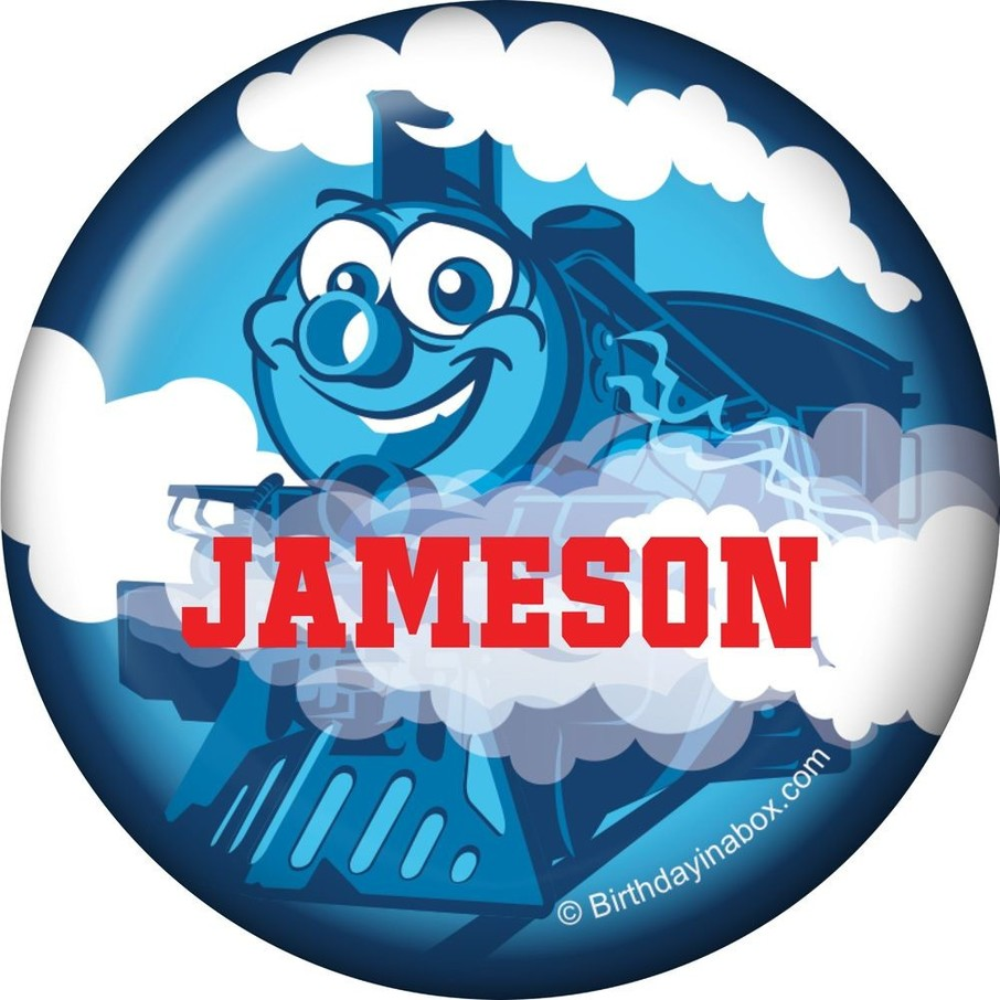 View larger image of Tank Engine Personalized Mini Magnet (each)