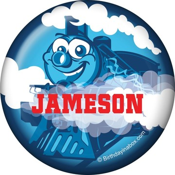 Tank Engine Personalized Mini Magnet (each)