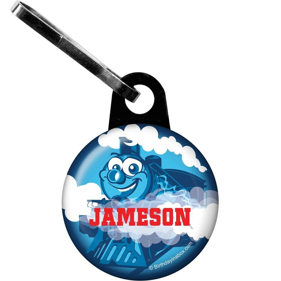 View larger image of Tank Engine Personalized Mini Zipper Pull (each)