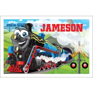 Tank Engine Personalized Placemat (each)