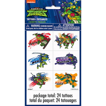 Teenage Mutant Ninja Turtles Tattoo Sheets (4)