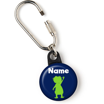 "The Friendly Dinosaur Personalized 1"" Carabiner (Each)"