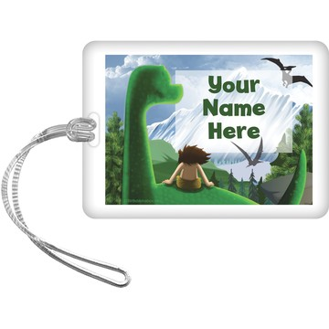 The Friendly Dinosaur Personalized Bag Tag (Each)