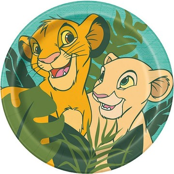 The Lion King Lunch Plates, 8ct