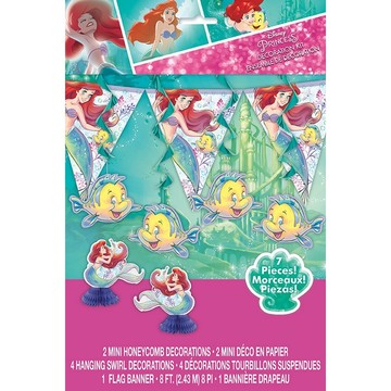 The Little Mermaid Decoration Kit, 7pcs