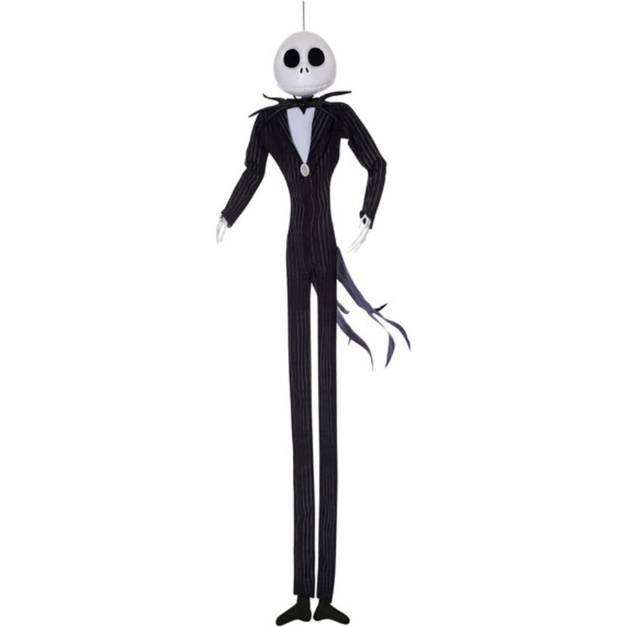 View larger image of The Nightmare Before Christmas - Jack Skellington Hanging Poseable Character