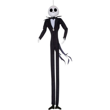 The Nightmare Before Christmas - Jack Skellington Hanging Poseable Character