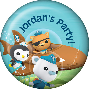 The Octonauts Personalized Magnet (Each)