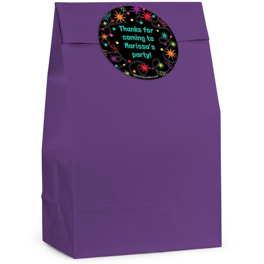 View larger image of The Party Continues Personalized Favor Bag (Set Of 12)