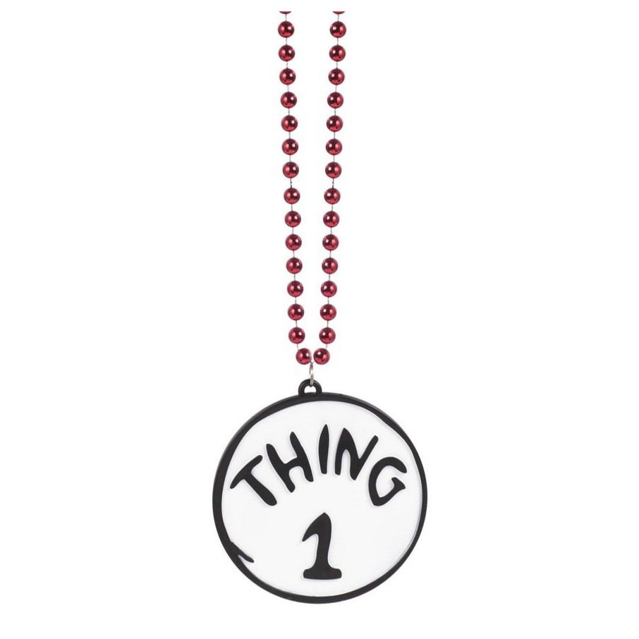 View larger image of Thing 1 & 2 Reversible Bling Necklace