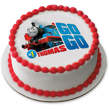 "Thomas and Friends 7.5"" Round Edible Cake Topper (Each)"